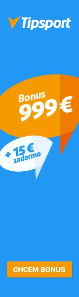 Bonus 999 € + 15 € pre každého nového hráča!